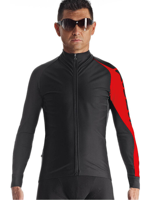assos LS.milleIntermediateJacket_evo7 Men National Red